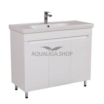 Мебель Аквародос Омега с умывальником Frame 100 см АР0002202