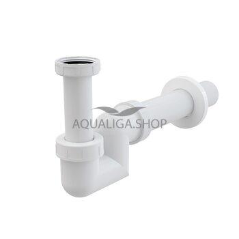 Сифон для биде, пластик d=40 AlcaPlast A45F-DN40