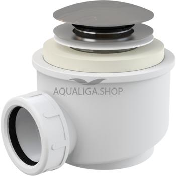 Выпускной комплект для душевого поддона click/clack Alcaplast A465-50