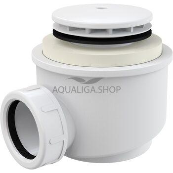 Сифон для душевого поддона белый d50 Alcaplast A47B-50