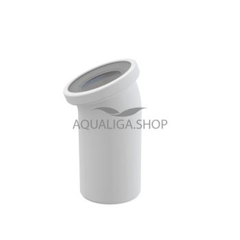 Колено для унитаза 22° AlcaPlast A90-22