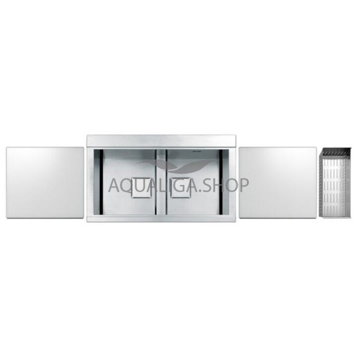 Кухонная мойка 860х500 Apell Sinphonia PD862IKITW Satin