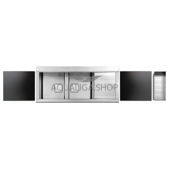 Кухонная мойка 1160х500 Apell Sinphonia PD1162IRKITB Satin
