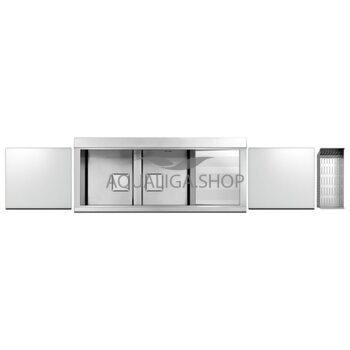 Кухонная мойка 1160х500 Apell Sinphonia PD1162IRKITW Satin