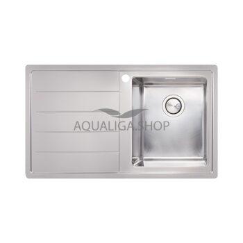 Кухонная мойка 860х500 Apell Linear Plus LNP861FLBC Brushed