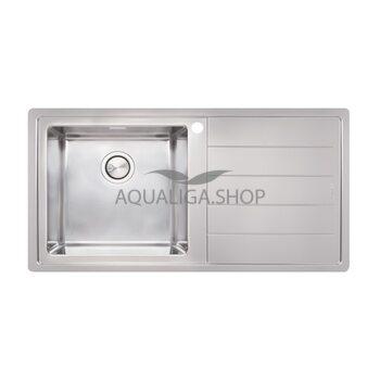 Кухонная мойка 1000х500 Apell Linear Plus LNP1001FRBC Brushed