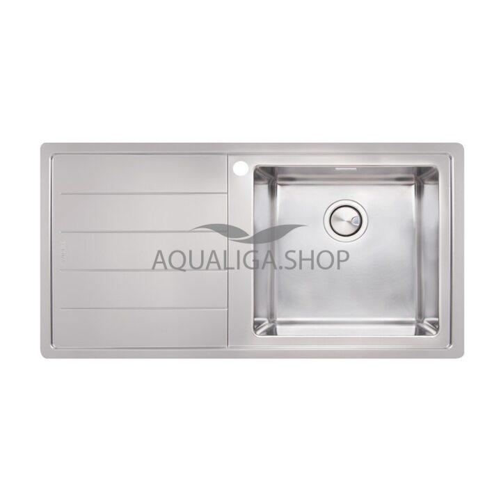 Кухонная мойка 1000х500 Apell Linear Plus LNP1001FLBC Brushed
