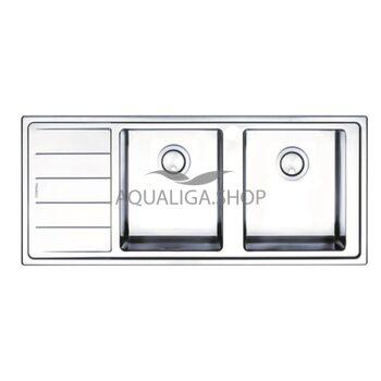 Кухонная мойка 1160х500 Apell Linear Plus LNP1162FLBC Brushed