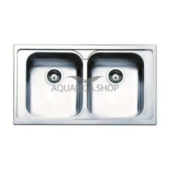 Кухонная мойка 860х500 Apell Torino TO862IBC Brushed