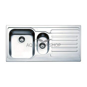Кухонная мойка 1000х500 Apell Venezia VE1002IRAC Satin