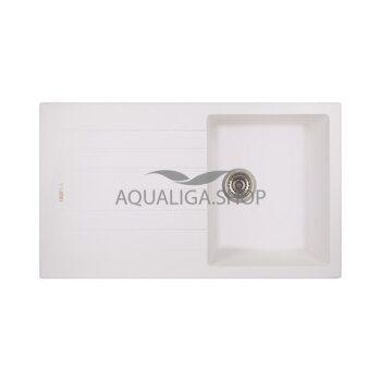 Кухонная мойка 860х500 Apell Pietra Plus PTPL861GW Total white