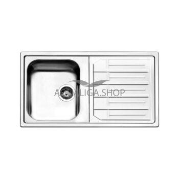 Кухонная мойка 860х500 Apell Melodia MLE861IRBC Brushed