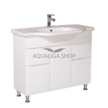 Мебель Аквародос Родорс с умывальником New Klasik 100 см АР0000408