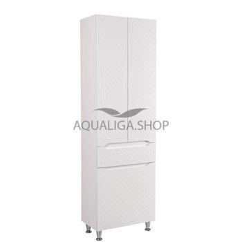 Пенал Аквародос Родорс 60 см с корзиной для белья АР0001721
