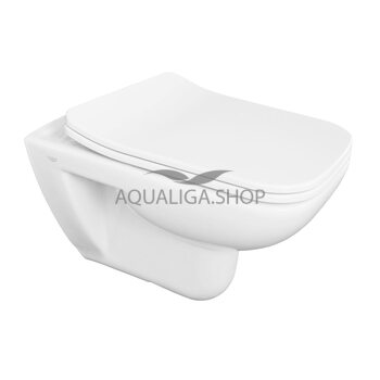 Унитаз Аквародос подвесной Duru Slim Soft-Close АР0002365