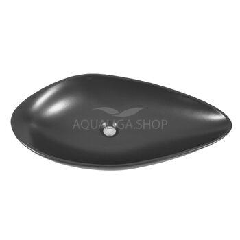 Умывальник Аквародос Olive черный матовый 75 см ОР0002865