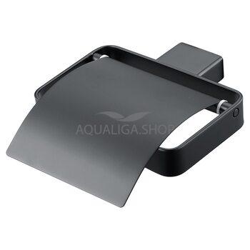 Держатель для туалетной бумаги черный ASIGNATURA Unique 85605802