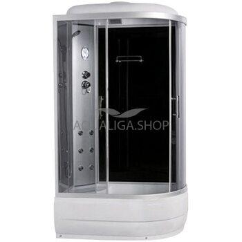 Гидробокс Sansa 120 Х 80 см стекло серое левая 8890D/45-L