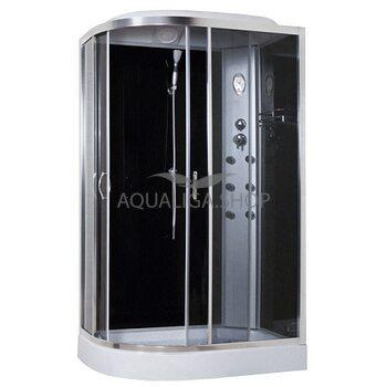 Гидробокс Sansa 120 Х 80 см стекло серое правая 8890D/15-R