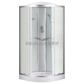 Гидробокс Sansa 90 Х 90 см стекло фабрик 8890D