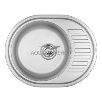 Кухонная мойка 57х45 Cosh 7112 Satin COSH7112S08