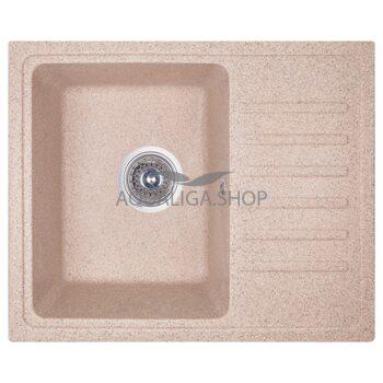 Кухонная мойка Cosh 55х46 kolor 806 коричневая COSH5546K806