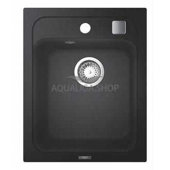 Мойка для кухни прямоугольная 400х500 Grohe K700 черный 31650AP0