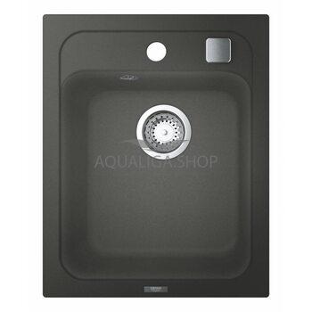 Мойка для кухни прямоугольная 400х500 Grohe K700 серый 31650AT0