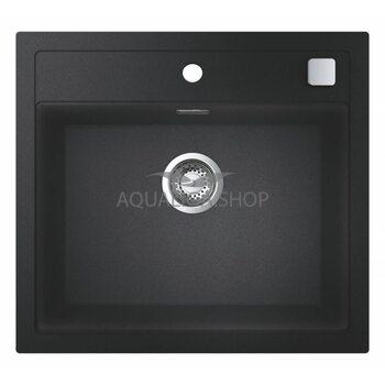 Мойка для кухни прямоугольная 560х510 Grohe K700 черный 31651AP0