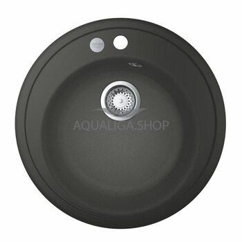 Мойка для кухни круглая Ø 510 Grohe K200 50-C 51 1.0 серый гранит 31656AT0