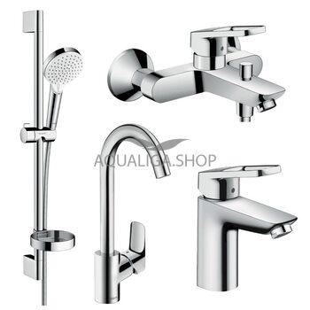 Набор смесителей для ванны Hansgrohe Logis Loop 1142019