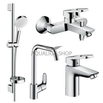 Набор смесителей для ванны Hansgrohe Logis Loop 1172019