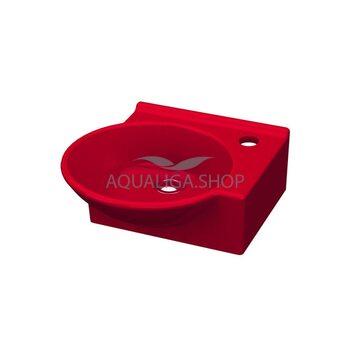 Умывальник 36 см Idevit Myra Mini красный, правый 0201-0365-08