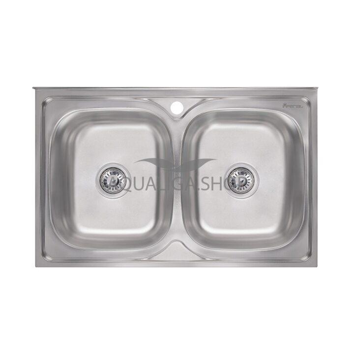 Кухонная мойка Imperial 5080 Satin двойная IMP5080SATD