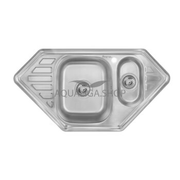 Кухонная мойка Imperial 9550-С Decor с дополнительной чашей IMP9550CDECD