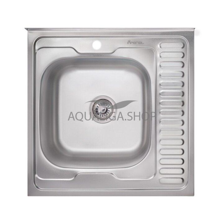 Кухонная мойка Imperial 6060-L Satin IMP6060LSAT