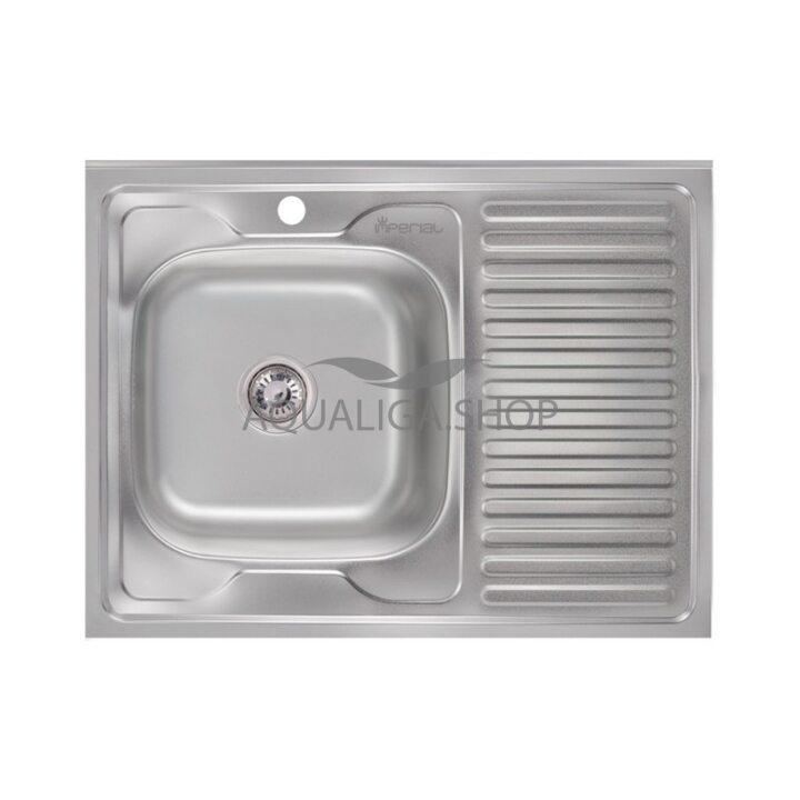 Кухонная мойка Imperial 6080-L Decor IMP6080L06DEC