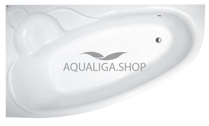 Ванна акриловая Koller Pool Nadine 170x100L + Ножки+ Сифон