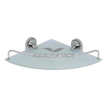 Полка стеклянная угловая Lidz CRG LIDZCRG1141001