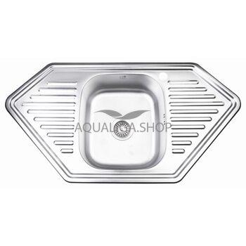 Кухонная мойка Lidz 9550-D Decor 0,8 мм LIDZ9550DEC08