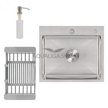 Кухонная мойка Lidz H5045 Brush 3.0/1.0 мм LIDZH5045BRU3010
