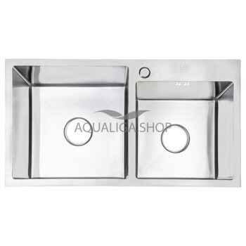 Кухонная мойка Lidz H7843 Brush 3.0/1.0 мм LIDZH7843BRU3010