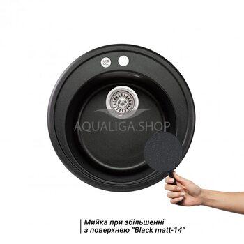 Кухонная мойка Lidz D510/200 BLM-14 LIDZBLM14D510200