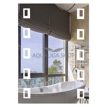 Зеркало прямоугольное Lidz 140.08.03 50х70 LED LD55781400803W