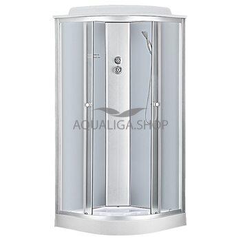 Гидробокс Sansa 90 Х 90 см стекло фабрик 6690A/15