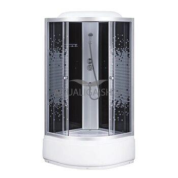 Гидробокс Sansa 90 Х 90 см стекло серое-мозаик 6690A