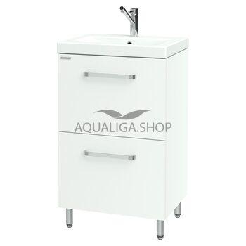 Шкафчик Flat для раковины Como 50 Nautilus FLAT-50 v2
