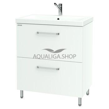 Шкафчик Flat для раковины Como 70 Nautilus FLAT-70 v2