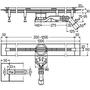 Душевой лоток Advantix Vario высота 70мм, 300-1200мм, 721671 №7