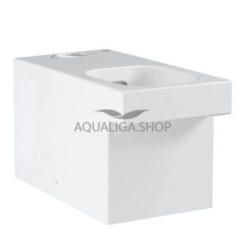 Унитаз напольный безободковый Grohe Cube Ceramic 3948400H